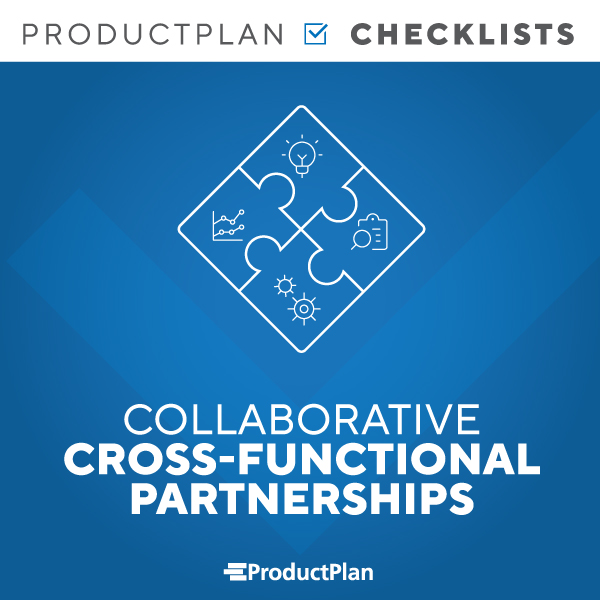 Collaborative Cross Functional Team Checklist Cover