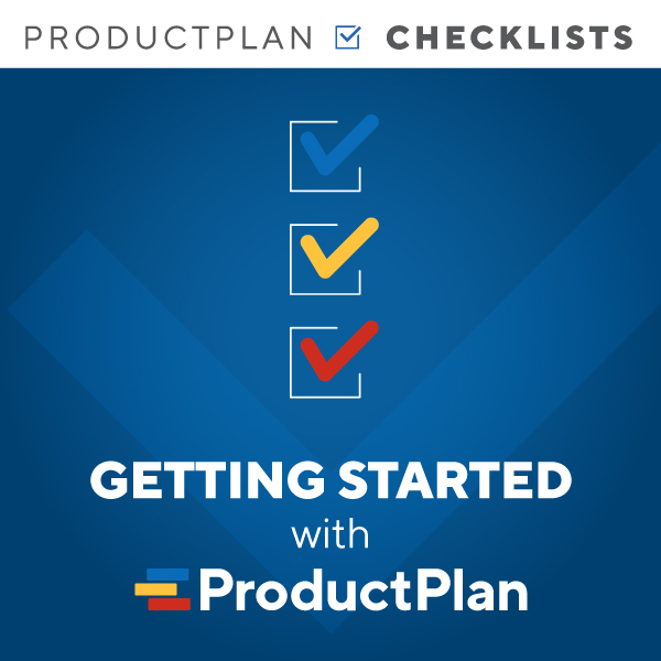 Getting Started with ProductPlan 600x600