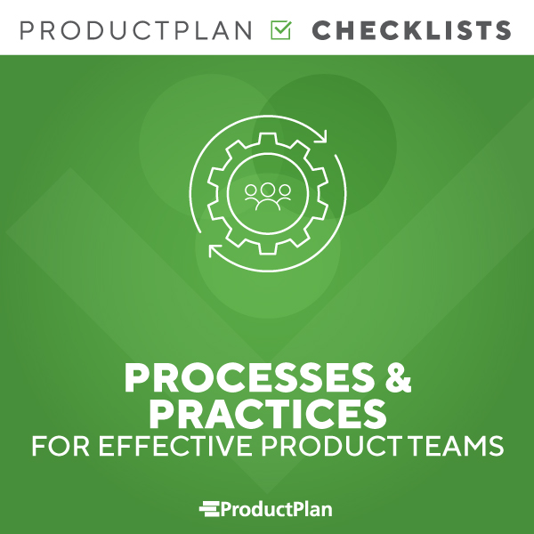 Processes for Effective Product Teams Checklist Cover