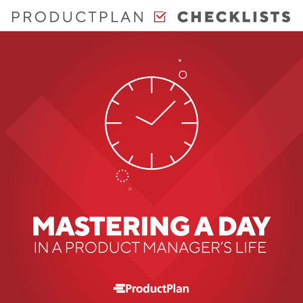 Product Managers Daily To Dos Checklist Cover