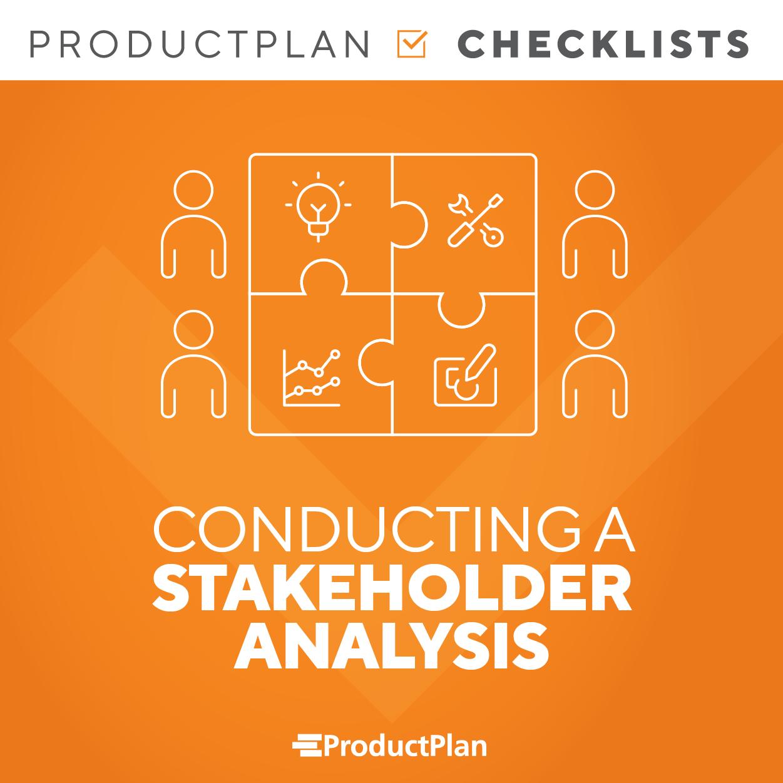 Stakeholder Checklist Cover