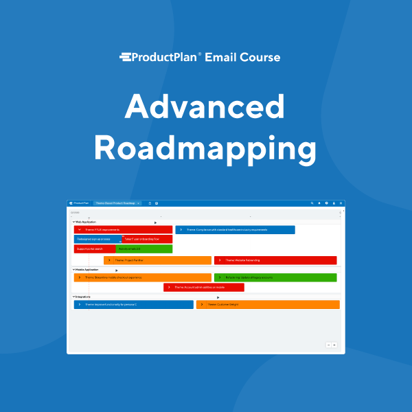 Advanced Roadmapping Email Course Cover