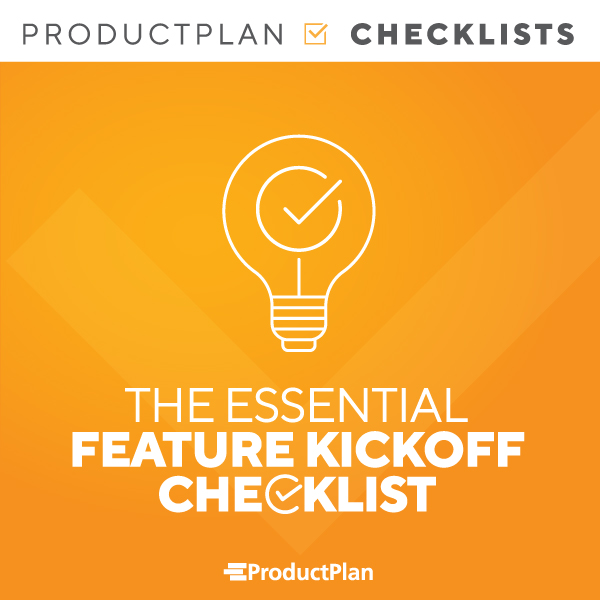 Feature Kickoff Checklest Cover