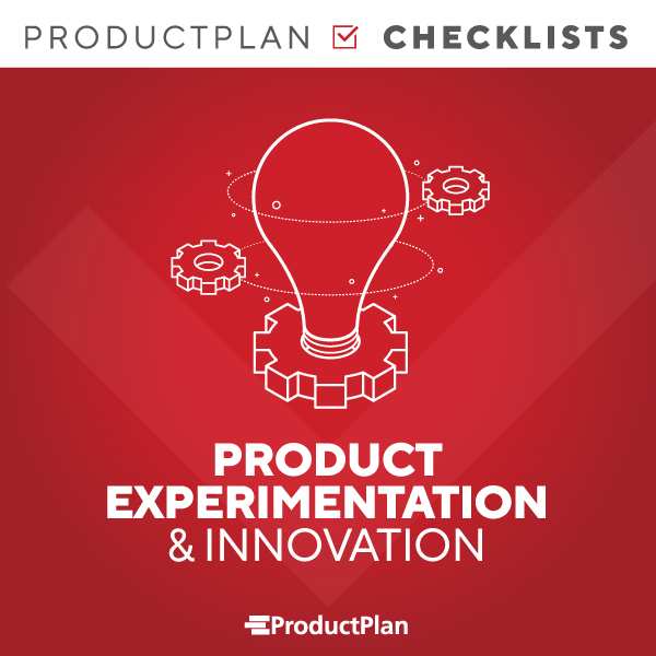 Product Experimentation Checklist Cover