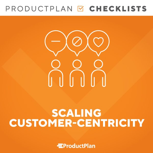 Scaling Customer Centricity Checklist Cover